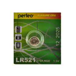PERFEO LR521/10BL Alkaline Cell 379A AG0 (цена за одну батарейку)