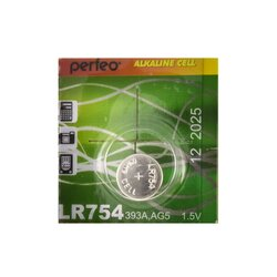 PERFEO LR754/10BL Alkaline Cell 393A AG5 (цена за одну батарейку)