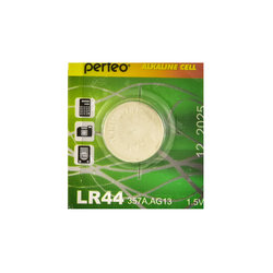 PERFEO LR44/10BL Alkaline Cell 357A AG13 (цена за одну батарейку)